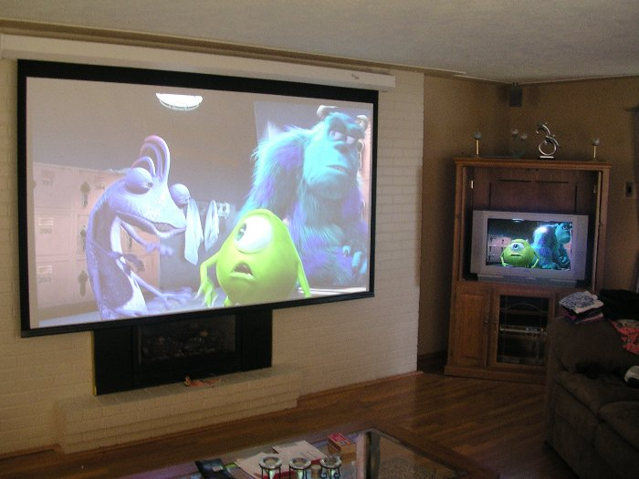 wiring a home theater projection tv home theater system - the schworak site
